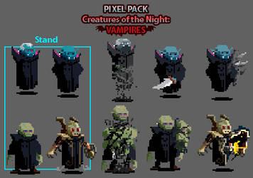 Creatures of the Night: VAMPIRES!