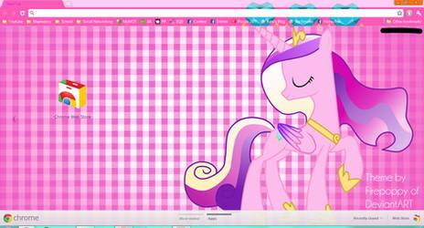 Princess Cadance Theme for Google Chrome by Firepoppy