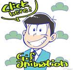 osomatsu-san animation by nijyu-maru