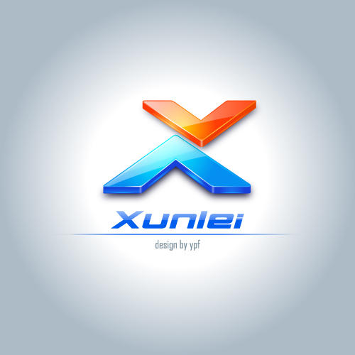 Logo for Xunlei_4 by ypf