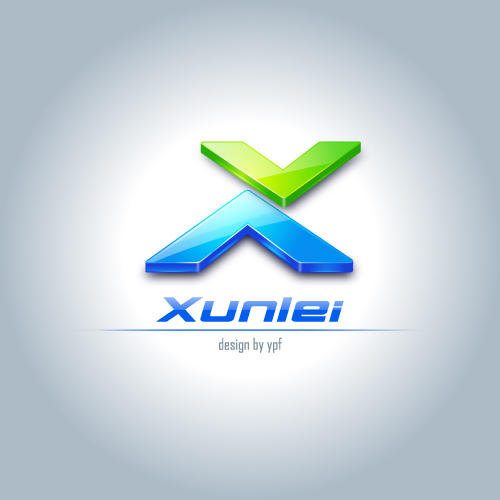 Logo for Xunlei_5 by ypf