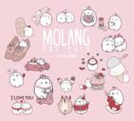 Molang Png Pack