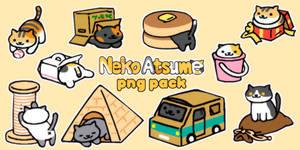 Neko Atsume PNG Pack #1