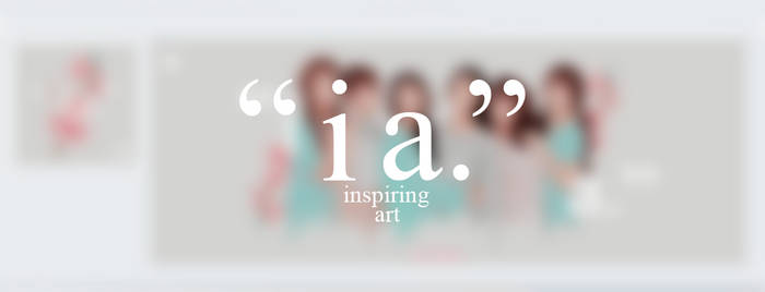 Inspiring Art FB Layout