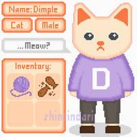 OPEN Adoptable Pixel Cat by shinrindari