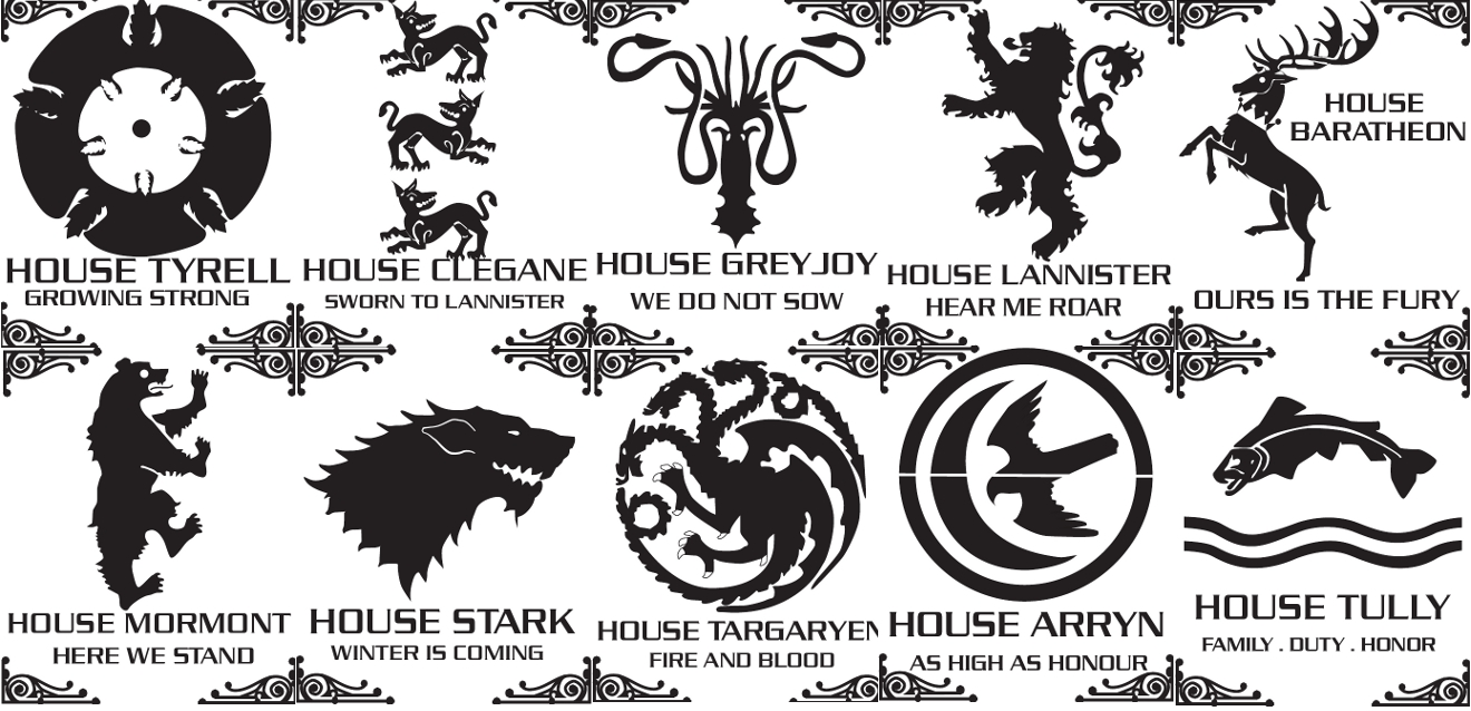 Game of thrones stencils by Bozebus on DeviantArt