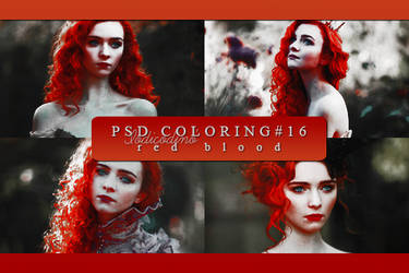 Psd Coloring 16: Red Blood by Iodicodino