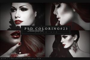Psd Coloring 23: Black Ash by Iodicodino