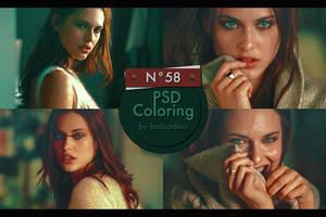 PSD Coloring 58 by Iodicodino