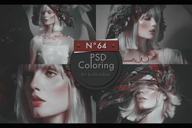 PSD Coloring 64 by Iodicodino