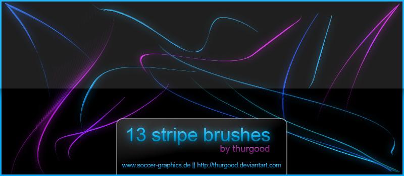 Waved Stripes Brushes