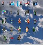 Icons: Zeroids 'n Friends