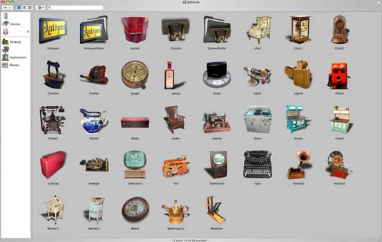 Antique Mac Icons