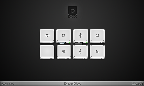 Drive Blox Icon Set by Zedj