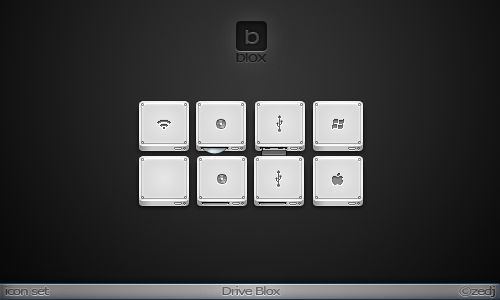 Drive Blox Icon Set