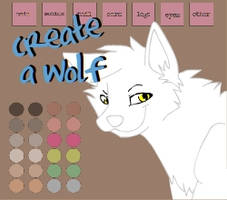Create A Wolf by KCoyote