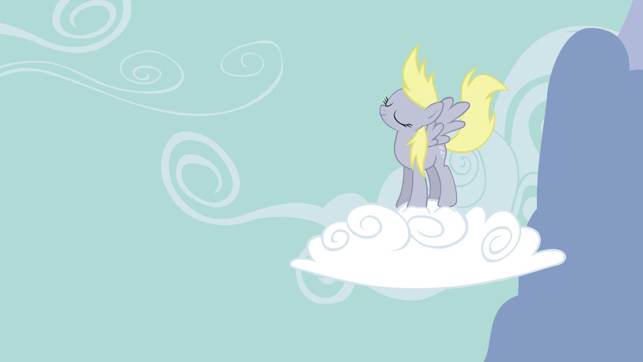 Derpy Cloud Jump Animation