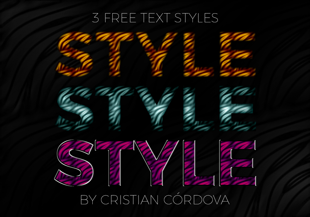 3 Free Text Style by C-Cris21