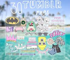 30 Tumblr Pngs