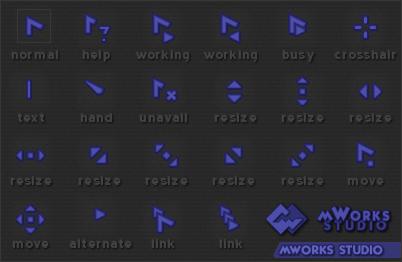 mWorks cursors