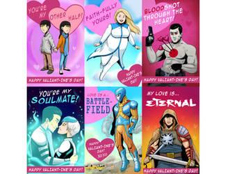 Valiant Valentines! by FutureDwight
