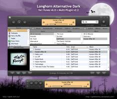 LhA Dark for iTunes 6 by geektechnu