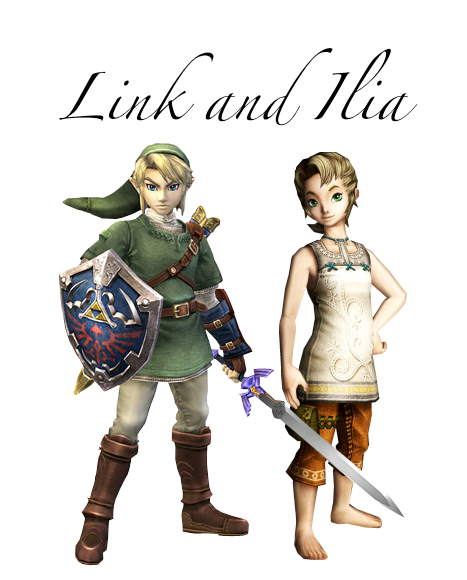 Link and Ilia Family by Porcelain-Requiem on DeviantArt