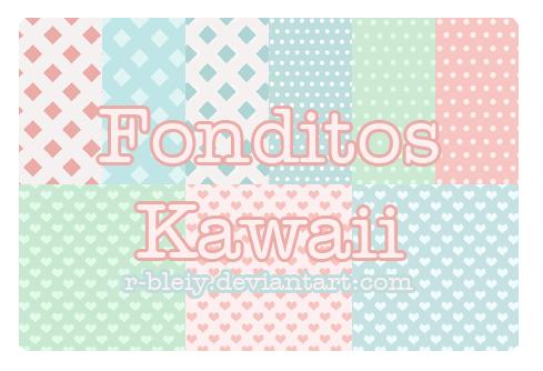 [Pack] Fonditos Kawaii 5 by R-bleiy