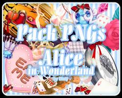 [Pack] Alice In Wonderland I by R-bleiy