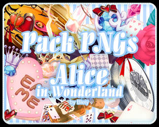 [Pack] Alice In Wonderland I by R-bleiy