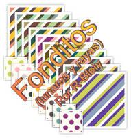 [Fonditos] Lunares y Rayas I by R-bleiy