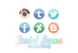 [Pack] Social Icons by R-bleiy