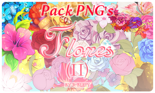 [Pack] Flores II by R-bleiy