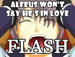 Alfeus Won't Say He's In Love [FLASH] by Samuraiflame
