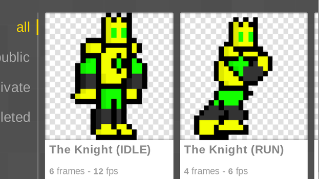 The Knight (IDLE)
