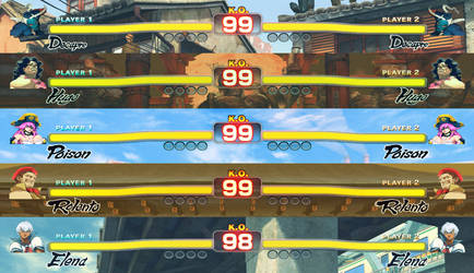 Complete HUD (all characters) by DbzMaster31