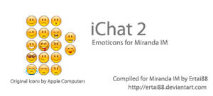 iChat 2 Emoticon Set
