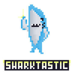 Shark Gif by Pixel-League