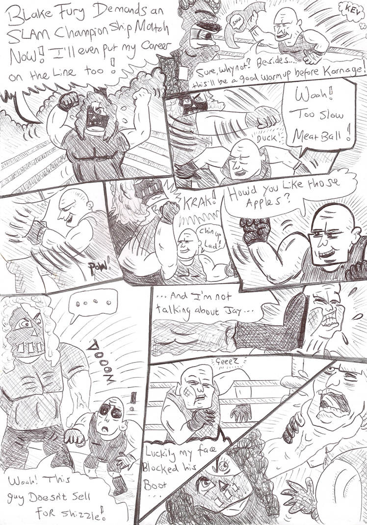 Slam Wars comic #1 - 003