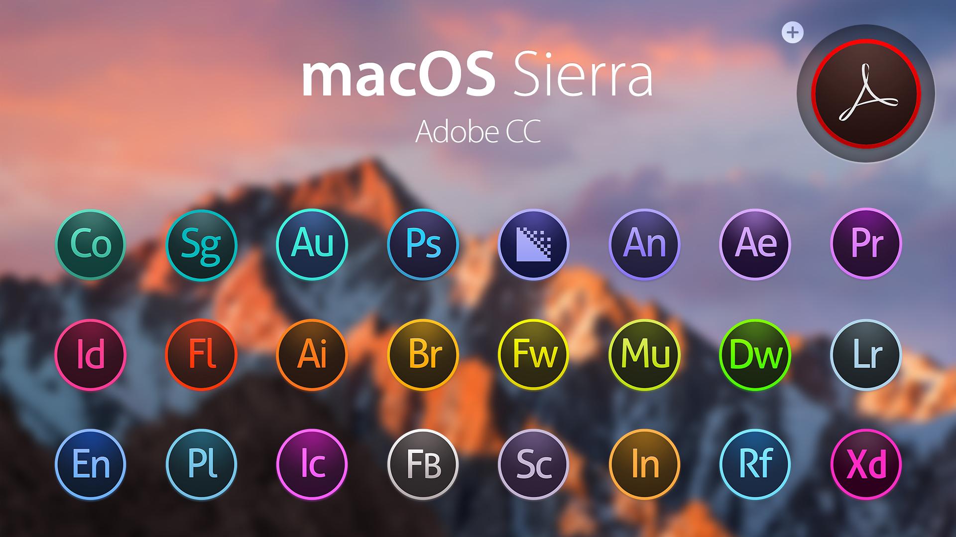 OS X Yosemite Adobe CC Dark by JasonZigrino