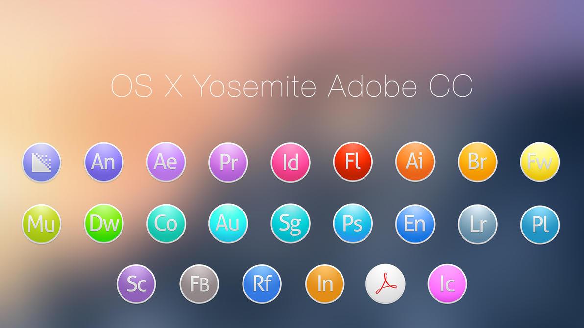 OS X Yosemite Adobe CC Light by JasonZigrino