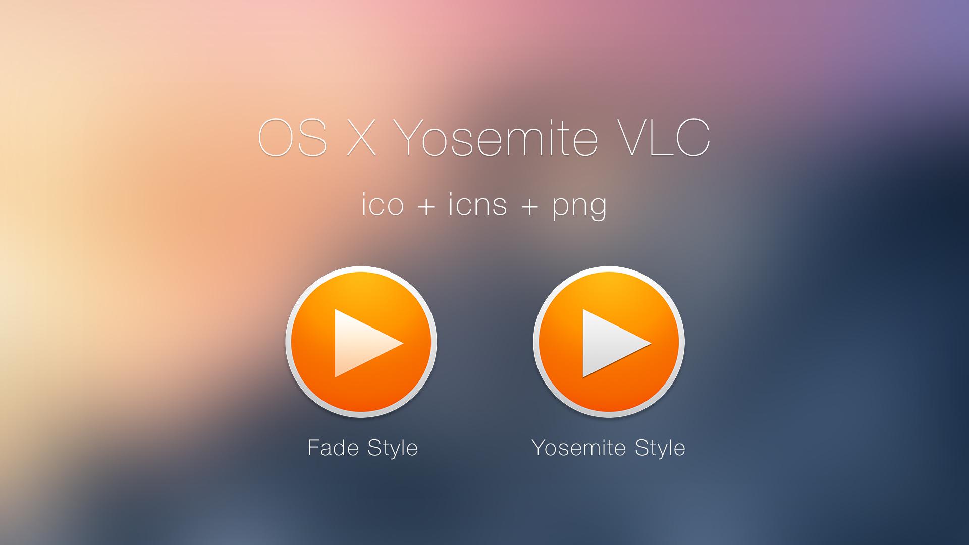 Google chrome themes yosemite - Vndesign 32 7 Vlc Yosemite Style Icons By Jasonzigrino