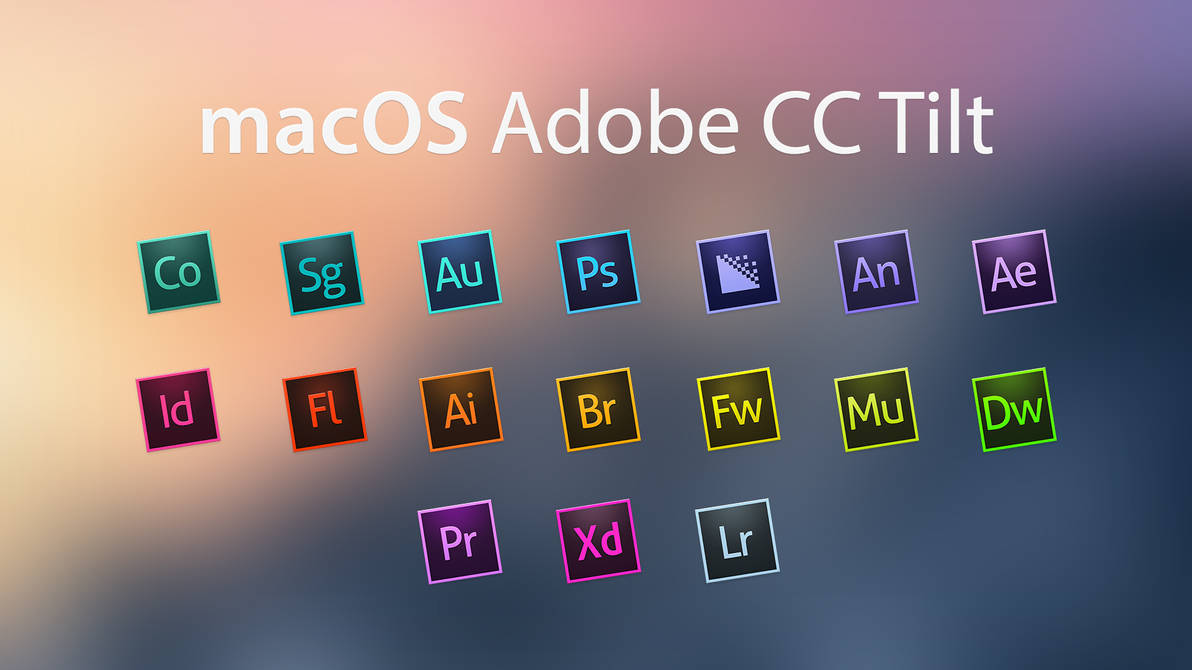 Adobe CC Tilt by JasonZigrino
