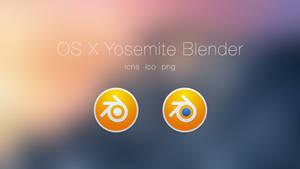 Blender OSX Yosemite Style