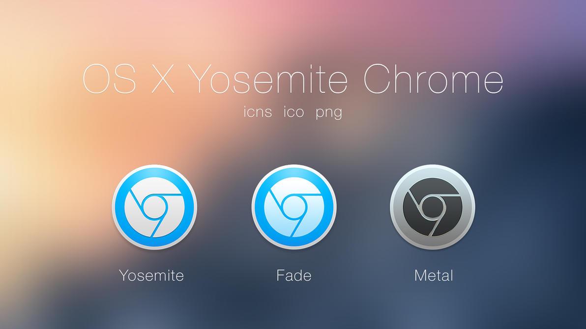 OS X Yosemite Google Chrome by JasonZigrino