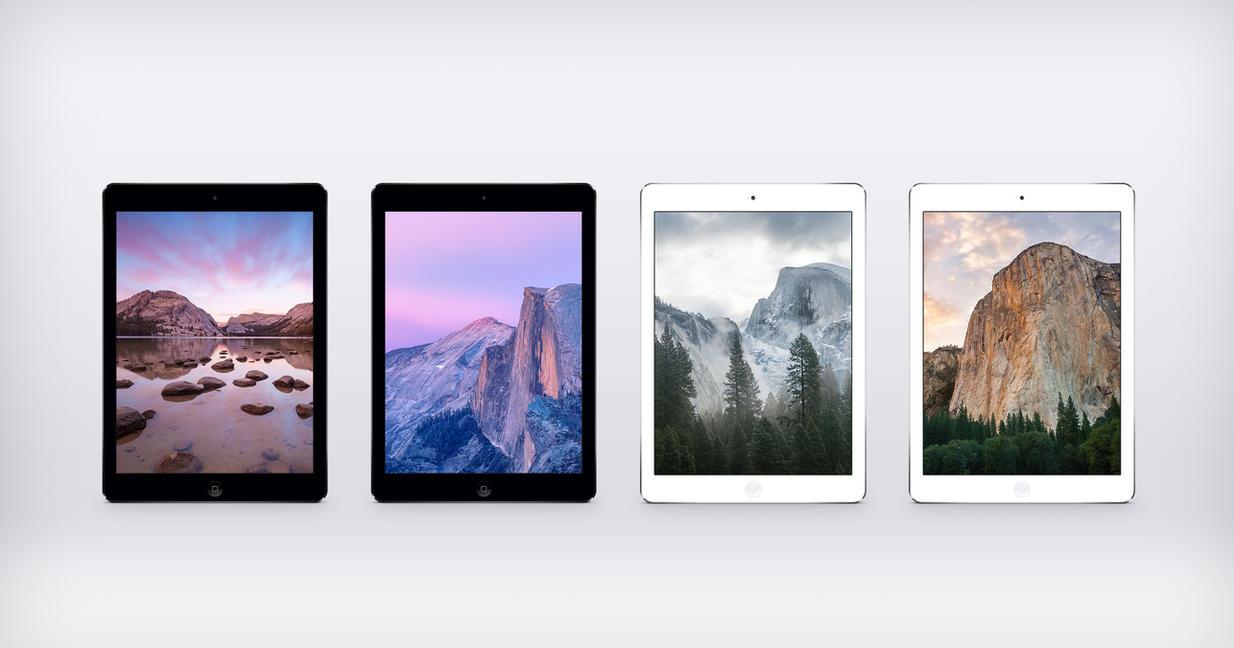 OS X Yosemite Developer Preview 6 iPad by JasonZigrino