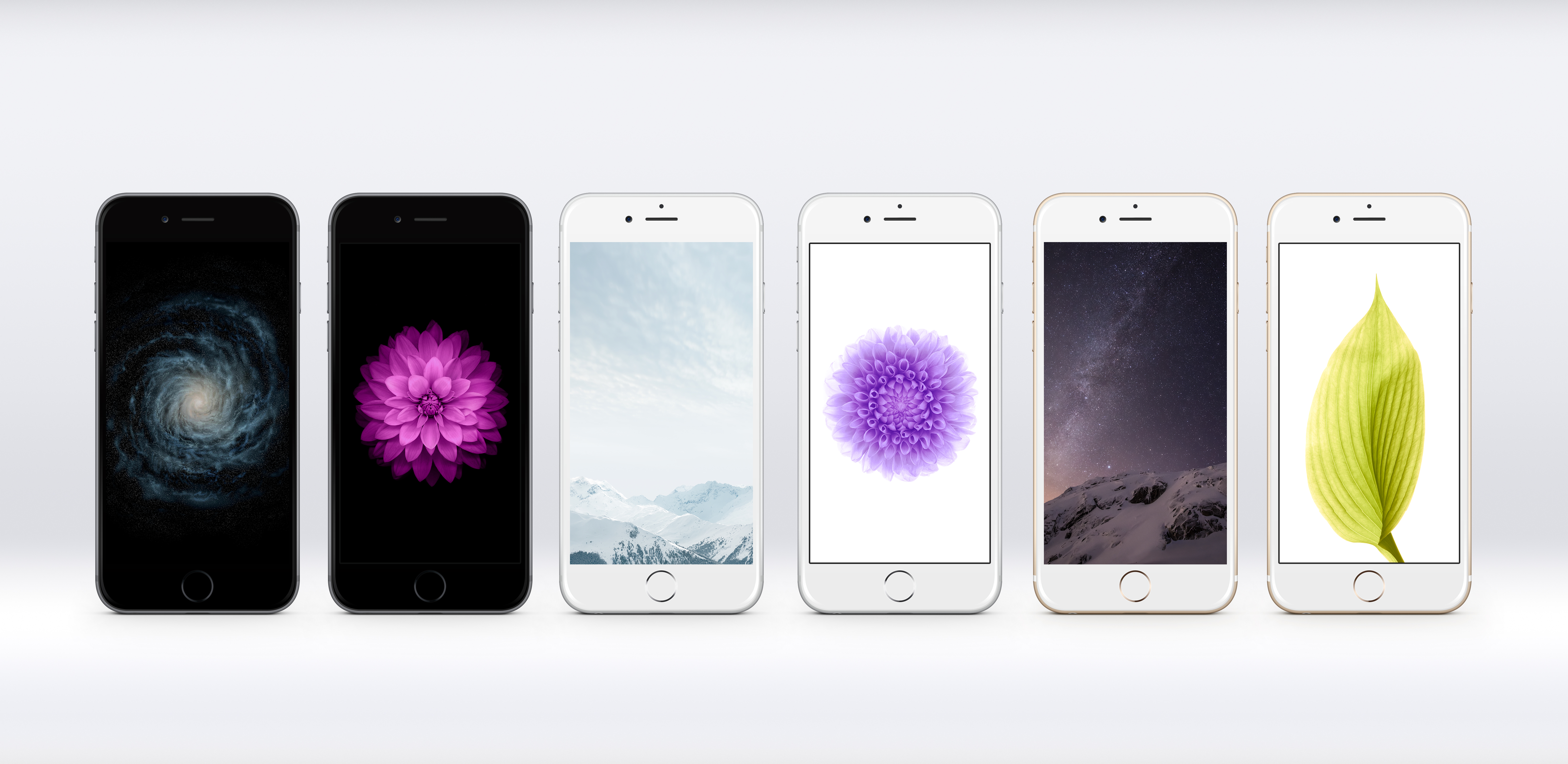 iOS 8 GM Wallpapers