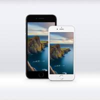 iOS 8 GM iPhone 6 Lighthouse Wallpaper