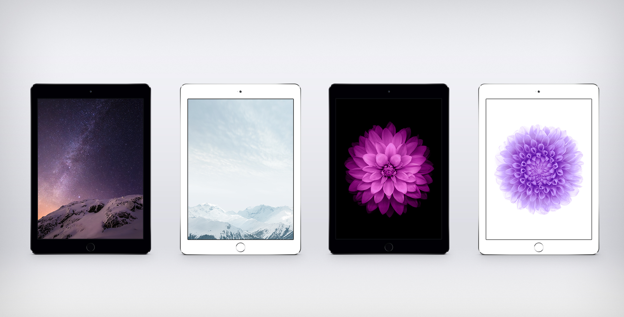 iOS 8 GM Wallpapers For iPad