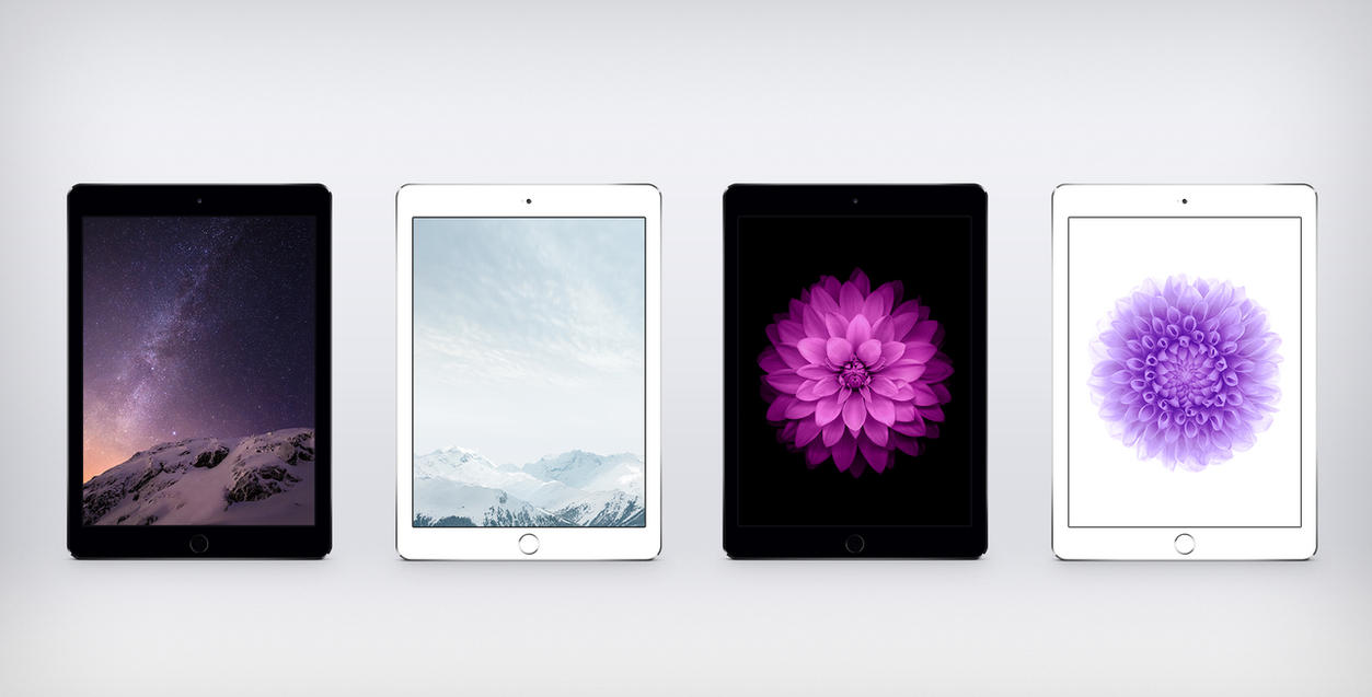 iOS 8 GM Wallpapers For iPad by Ziggy19